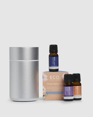 ECO. Modern Essentials Nebulizing Diffuser & Deep Sleep Trio Collection Wellness Multi