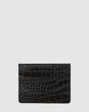 Nakedvice The Lola Cardholder - Wallets (Black)