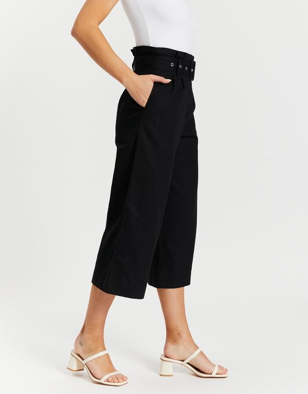 Women Brenda Belted Wide Leg Pants