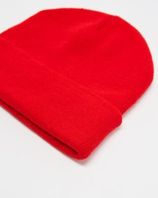Nana Judy Classic Beanie - Headwear (Red)