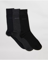 BOSS - 3-Pack Combed Cotton Socks