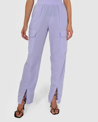 BY.DYLN Josephine Pants - Pants (Lilac)