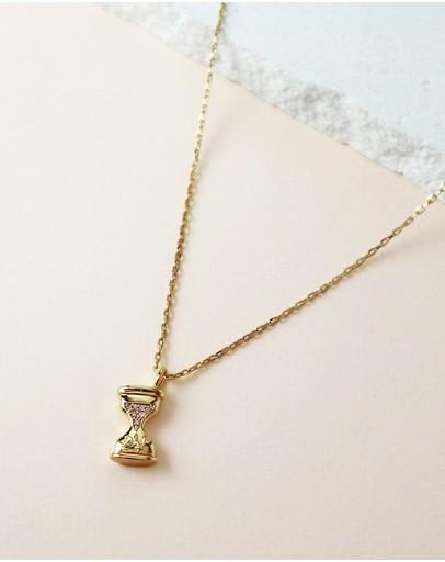 Wanderlust + Co Make Magic Gold Necklace