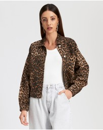 Lioness - Bad Behaviour Leopard Jacket