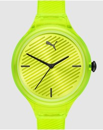 Puma - Contour Yellow Analogue Watch