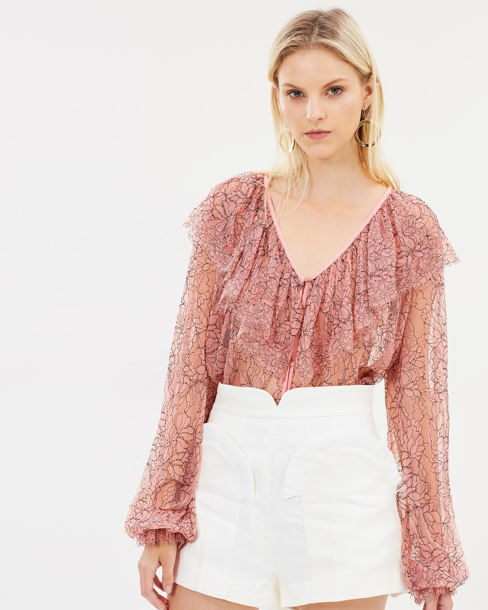 alice McCALL Folklore Blouse Tops Rose Folklore Blouse