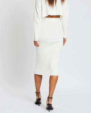 Dazie Match Made In Heaven Skirt - Skirts (Off White)