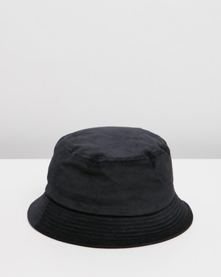 Kangol Cord Bucket Hat - Hats (Black)