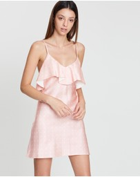 Shona Joy - Bias Frill Mini Dress