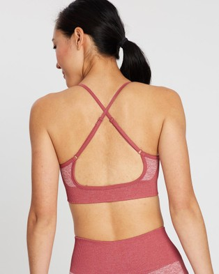 Doyoueven Impact Seamless Crop - Crop Tops (Earth Red)