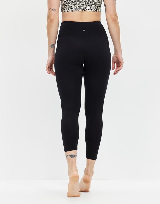 Women High-Waisted Double Brushed 7/8 Leggings