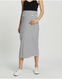 Angel Maternity - Maternity Midi Skirt
