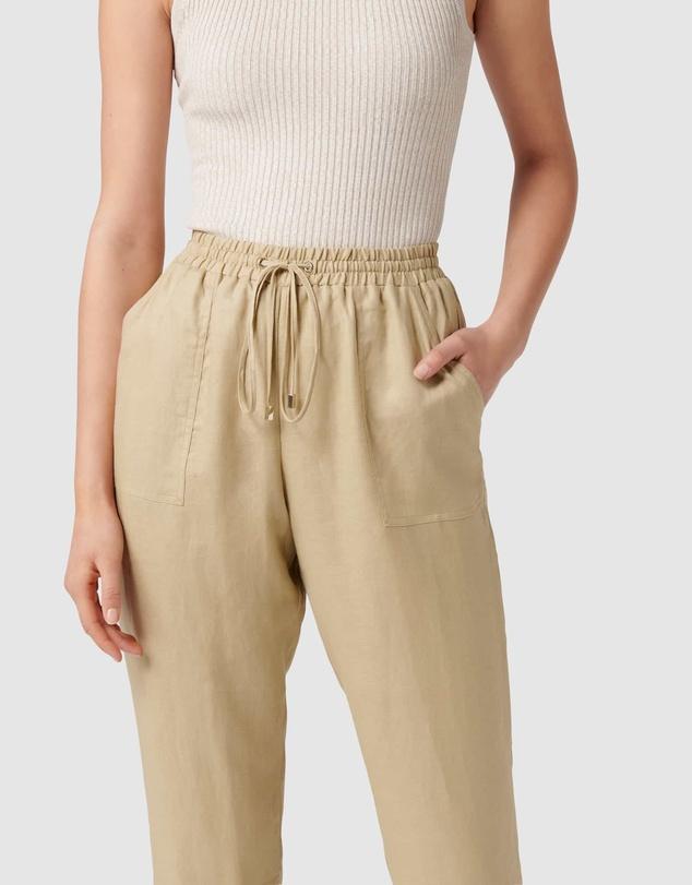 Women Sasha Casual Linen Pant