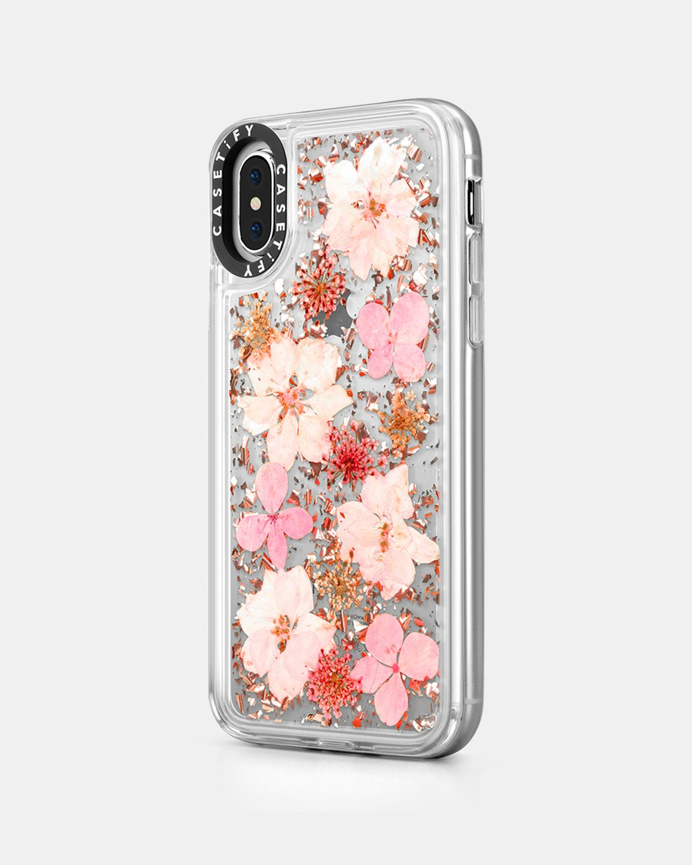 finest selection d27e3 2c02f Luxe Pressed Flower Phone Case for iPhone XS/ iPhone X - Sakura