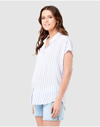 Ripe Maternity - Quinn Relaxed Shirt