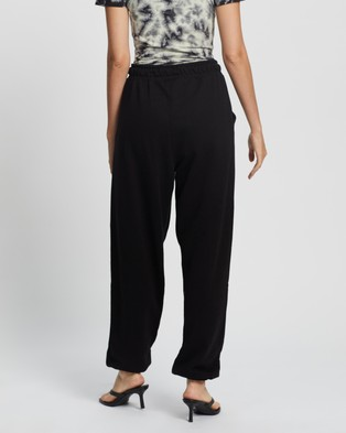 Missguided 90s Oversized Joggers - Sweatpants (Black)