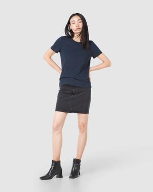 Superdry - Orange Label Tee - T-Shirts & Singlets (Eclipse Navy) Orange Label Tee