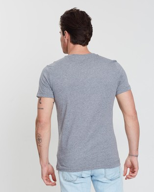 Calvin Klein Jeans Core Institutional Tee - T-Shirts & Singlets (Grey Heather)