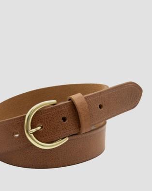 Loop Leather Co Brookline - Belts (Brandy Tan)