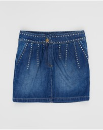 Indee - Fair Denim Skirt - Teens 8-10
