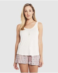 Deshabille Sleepwear  - Rosegarden Shorts Set