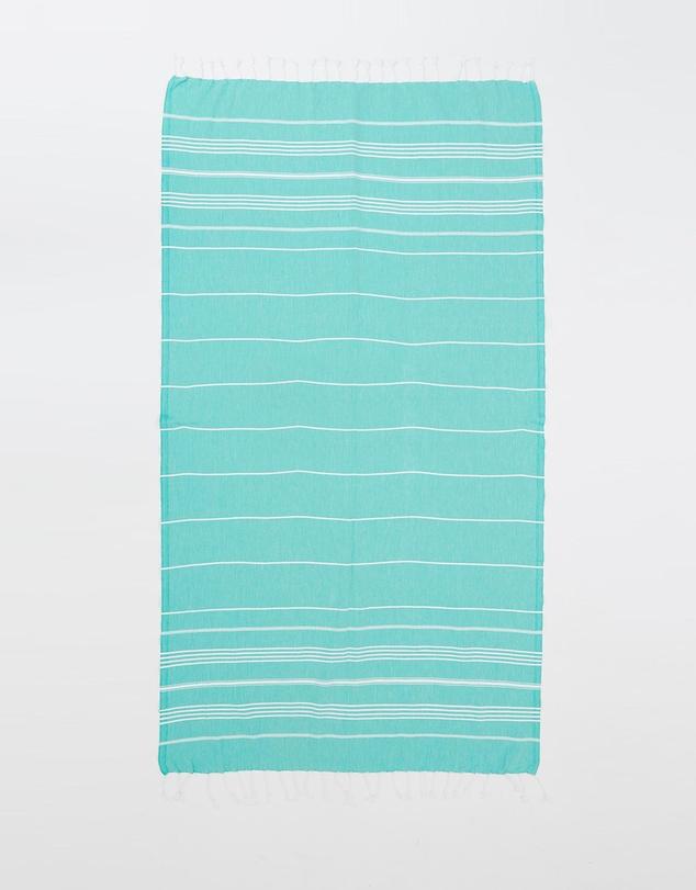 Life French Riviera Mint Turkish Towel