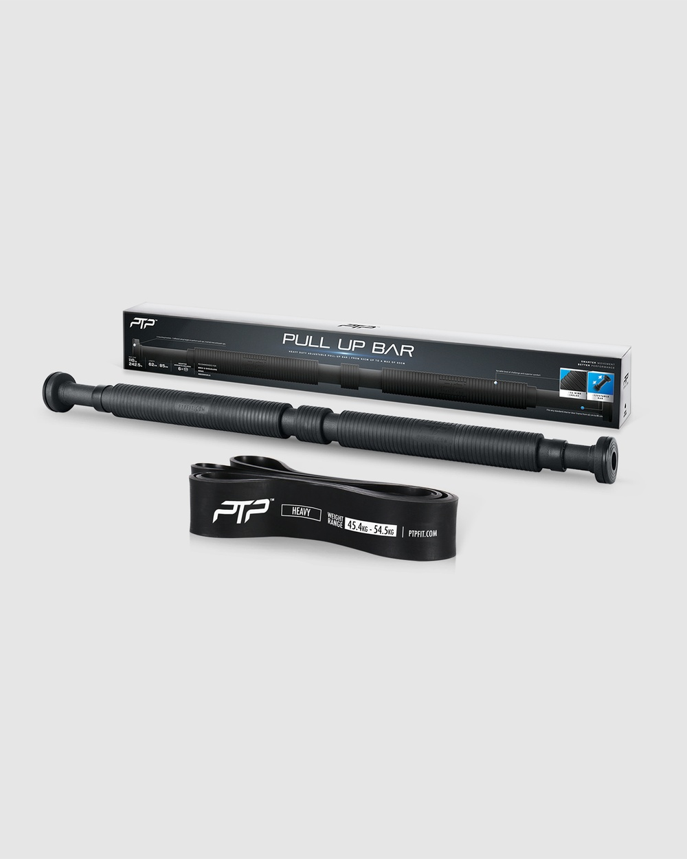 PTP Pull Up Bar+SuperBand4 Novelty Gifts Black Pull-Up