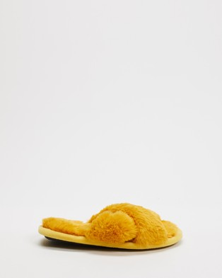 Kip&Co Slippers   Kids - Slippers & Accessories (Sunshine Yellow)