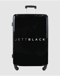 JETT BLACK - Jett Black Signature Large Suitcase