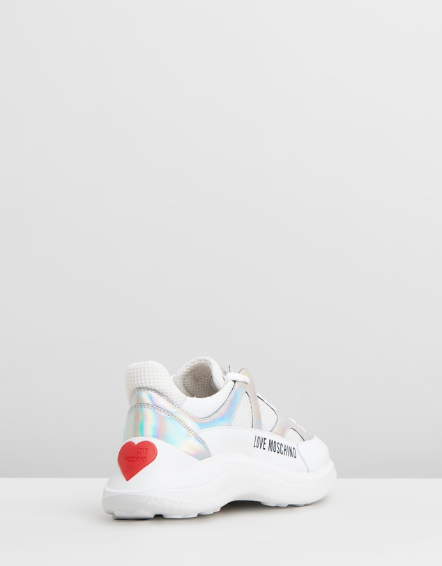 LOVE MOSCHINO - Mesh Sneakers