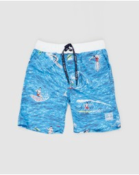 Scotch Shrunk - Colourful Boardshorts - Teens
