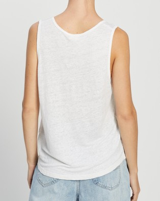 American Vintage Lolosister Tank Top - T-Shirts & Singlets (White)