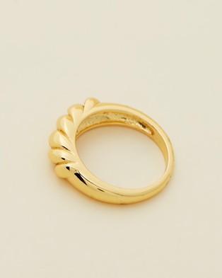 Reliquia Jewellery Solarie Ring - Jewellery (Gold)
