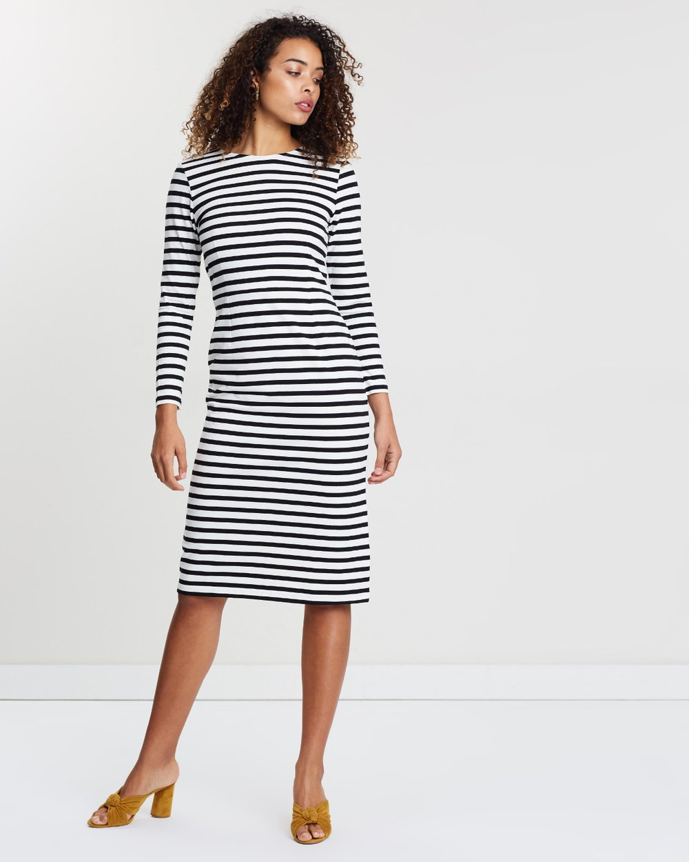 a8ae2e6ff9694 Long Sleeve Striped Dress by J.Crew Online | THE ICONIC | Australia