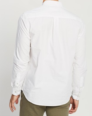 Assembly Label Day Button Down Shirt - Shirts & Polos (White)