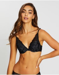 Calvin Klein - Perfectly Fit Iris Lace Plunge Bra