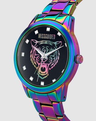 Missguided Missguided Iridescent Tiger - Watches (Iridescent)