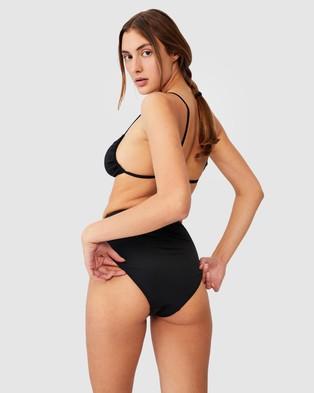 Cotton On Body High Waisted Full Bikini Bottoms - Bikini Bottoms (Black)