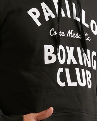 RVCA Parillo Boxing Club Po Fleece - Jumpers & Cardigans (BLACK)