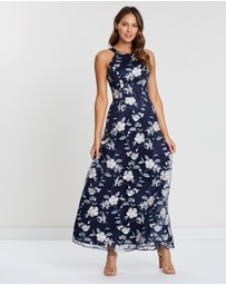 Review - Forever Floral Maxi Dress