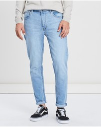 Abrand - Dropped Skinny Turn-Up Jeans
