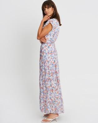 Tussah Ryder Maxi Dress - Printed Dresses (Lucinda Floral Lavender)