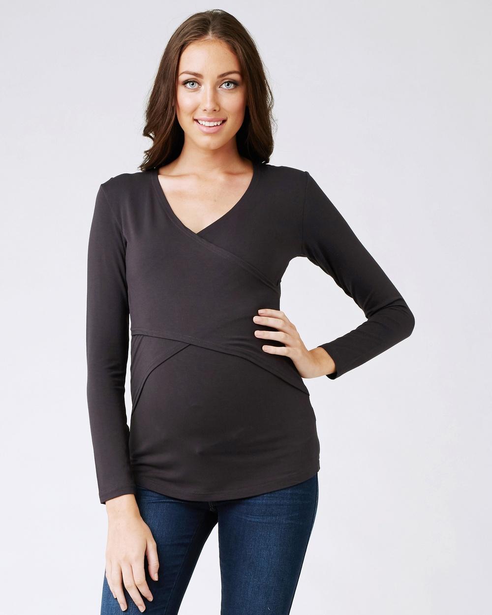 Ripe Maternity Embrace Top Tops Tar Embrace Top