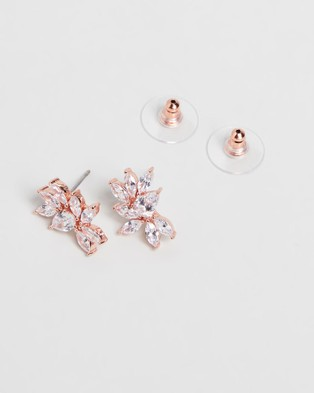 Stephanie Browne Twilight Earrings - Jewellery (Rose Gold)