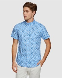 Oxford - Tottenham Printed Short Sleeve Shirt