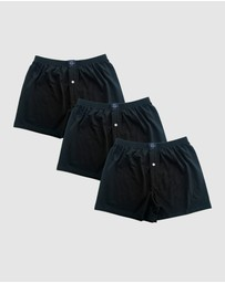 Coast Clothing - 3 Pack Boxer Shorts