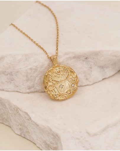 By Charlotte - Taurus Necklace