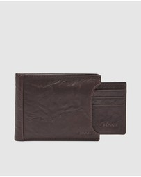 Fossil - Neel Brown Bifold Wallet