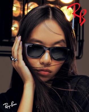 RaBan - Original Wayfarer Classic - Sunglasses (Solid Colour Green)