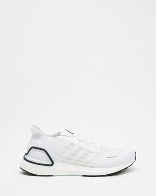 adidas Performance UltraBOOST SUMMER.RDY   Men's - Performance Shoes (Footwear White, Sky Tiny & Core Black)